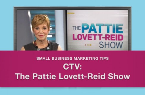 9 tips for Media Interviews – How and why I was interviewed on CTV's Pattie Lovett-Reid Show