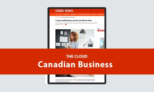 Small Business and the Cloud | Cloud Computing Maureen McCabe Marketing Interviewed AllBusiness.com